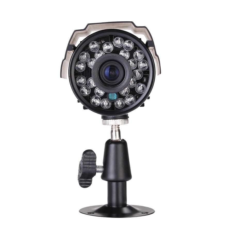 1.0/1.3MP 2000/2500TVL High Resolution 24pcs LED Waterproof Camera With IR-CUT Filter AHD CCTV Camera