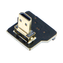 CYFPV Micro HDMI Kind D Male Down Angled 90 Diploma for FPV HDTV Multicopter Aerial Pictures