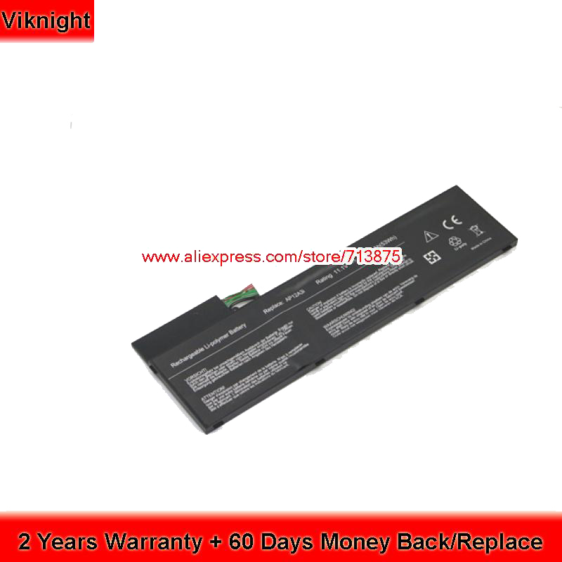 New AP12A3i AP12A4i Laptop Battery for Acer Aspire M3 Aspire M5 Laptop 4800mAh 53Wh aspire 7741g