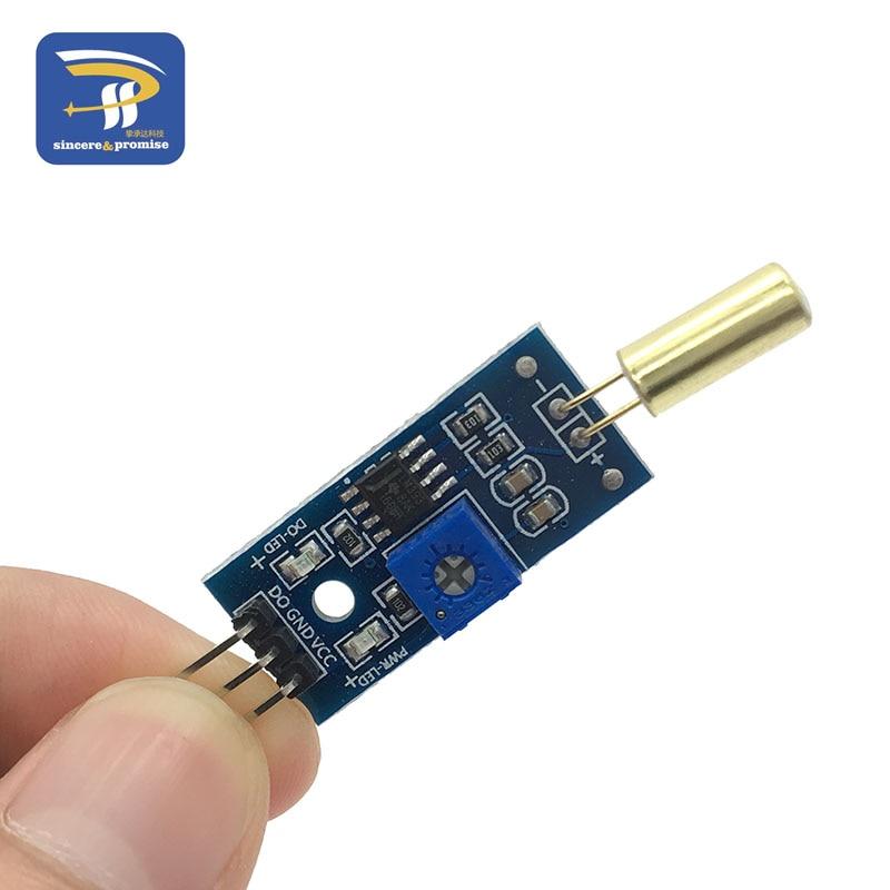 Módulo sensor de inclinação interruptor microcontrolador blocos de construção eletrônicos robô inteligente para arduino kit diy