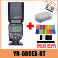 Yongnuo YN600EX-RT YN600EX RT Wireless Flash Speedlite Radio TTL HSS 1/8000 For Canon Camera + 12 pcs color cards