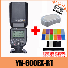 Yongnuo YN600EX-RT YN600EX RTไร้สายแฟลชS PeedliteวิทยุTTLไฮสปีด1/8000สำหรับCanonกล้อง+ 12ชิ้นบัตรสี