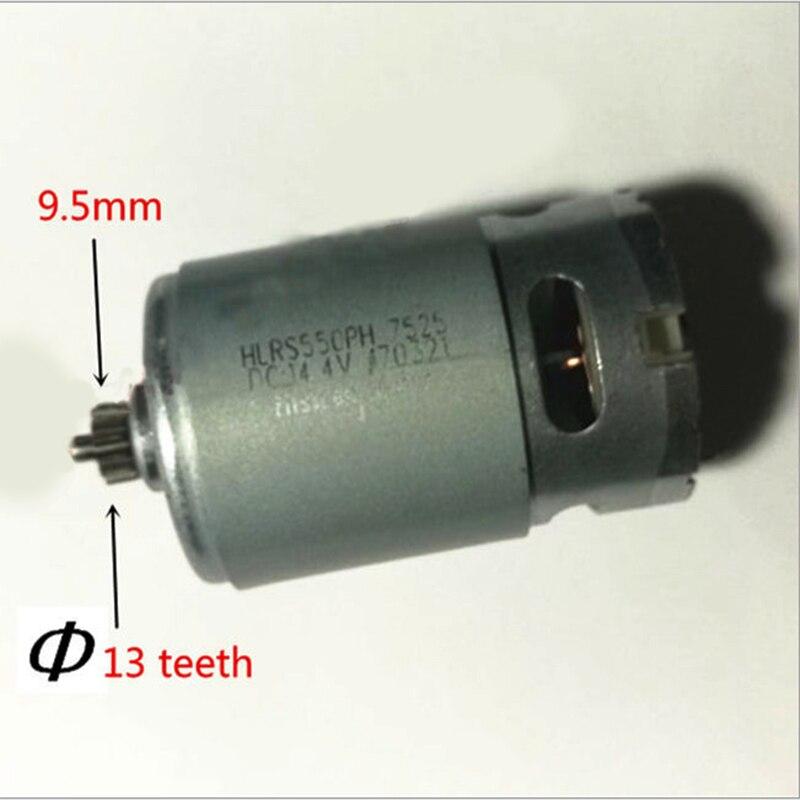 13 Teeth Motor 14.4V Replace For BOSCH GSR14.4-2-LI PSR 14,4 Li-2 PSR14.4LI-2 PSR1440LI-2 GSR 14,4-2-li Drill Engine