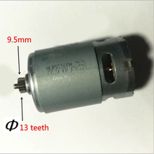 цена на 13 Teeth Motor 14.4V Replace for BOSCH GSR14.4-2-LI PSR 14,4 li-2 PSR14.4LI-2 PSR1440LI-2 GSR 14,4-2-li Drill engine