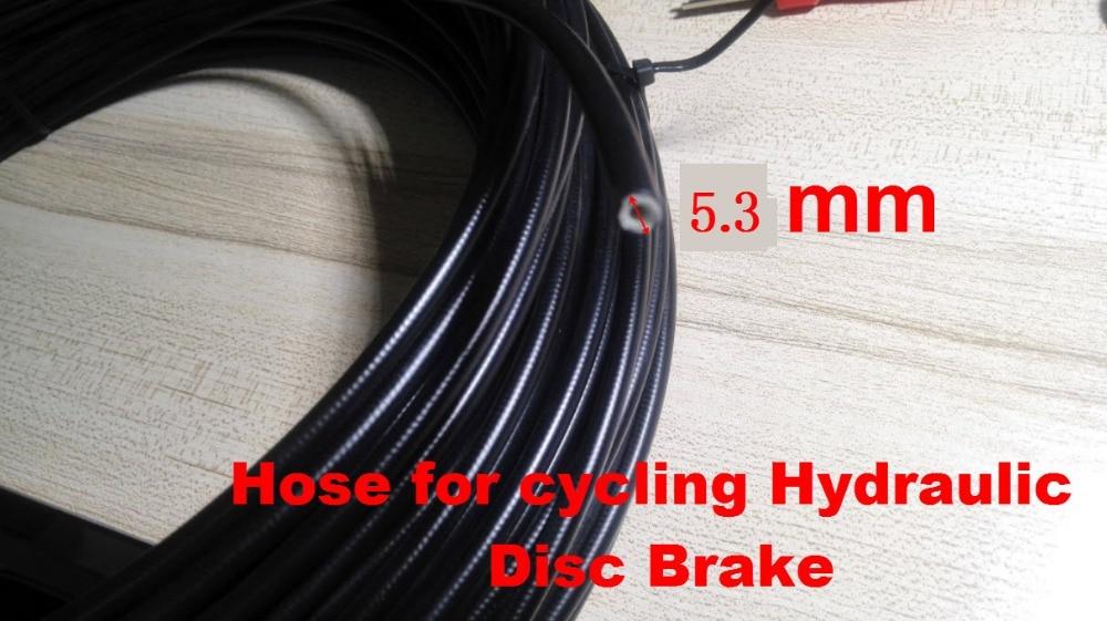 1m Bicycle Brake Housing Hose For Hydraulic Bike Disc Bicycle Accessories Brake Fluid Oil Transefer Hose Pipe Bike Repair Tool Bicycle Brake Cycling
