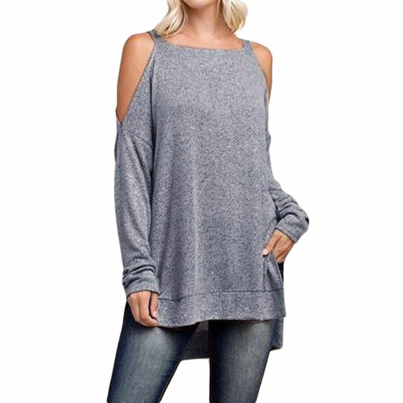 Gray-Asymmetric-Cold-Shoulder-Side-Split-Long-Sleeve-Blouse-LC25969-11-2