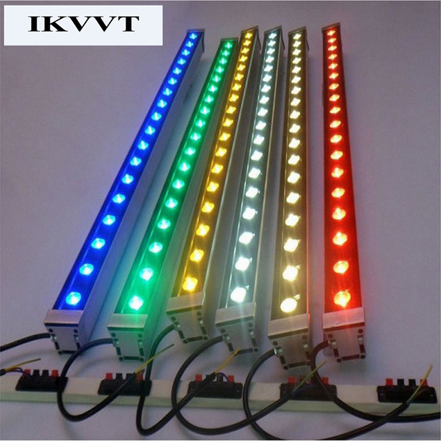 AC85 265V 72w waterproof IP67 outdoor rgb flood light building light free shipping led wall washer