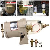500FG 500FH Diesel Engine Fuel Water Separator Assembly Include 2010PM Fuel Filter Water Separator Racor Filter