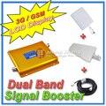 Жк-дисплей GSM / 3 г W-CDMA мобильный телефон для двух усилитель сигнала, Усилитель сигнала + вход-периодическая антенна + плоская антенна