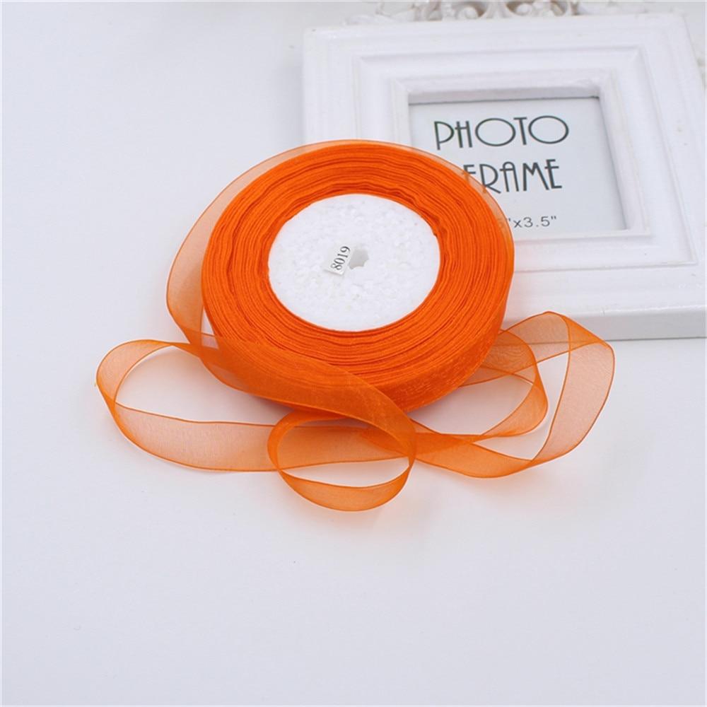 15mm 50 Corte / Rollos 45 M Jolie Seda de Organza de Doble Cara Cinta - Artes, artesanía y costura