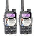 2 pcs new walkie talkie baofeng uv-5ra para scanner da polícia rádio vhf uhf dual band presunto rádio transceptor fone de ouvido livre