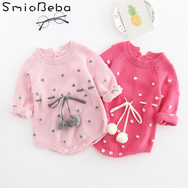 8c38baf86 INS Baby Girls Rompers Autumn Boys Newborn Baby Clothes Baby Outfits ...