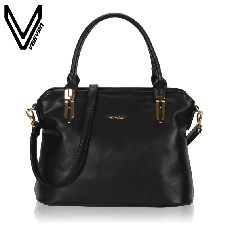 VEEVANV Brand 2017 Women Sac Main Femme Marque Luxe Cuir Handbags Large Tote Messenger Bag Bolsos Mujer Crossbody Bags for Woman hongu genuine leather shoulder messenger bags for women pillow shape sac a main femme de marque luxe cuir 2017 black pink online