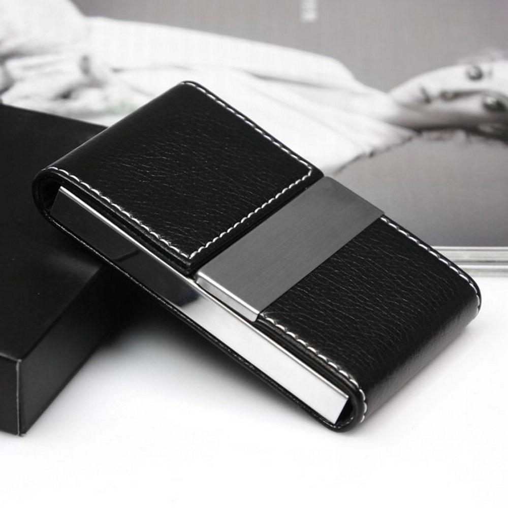 Новый металлический кошелек для мужчин и женщин, чехол из нержавеющей стали для визиток, дорожный футляр для кредитных карт, держатель для к...