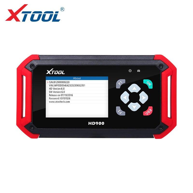 XTOOL New Arrive HD900 Eobd2 OBD2 CAN BUS Auto Heavy Duty Diagnostic Scanner Code Reader XTOOL HD900 Code Reader  цены