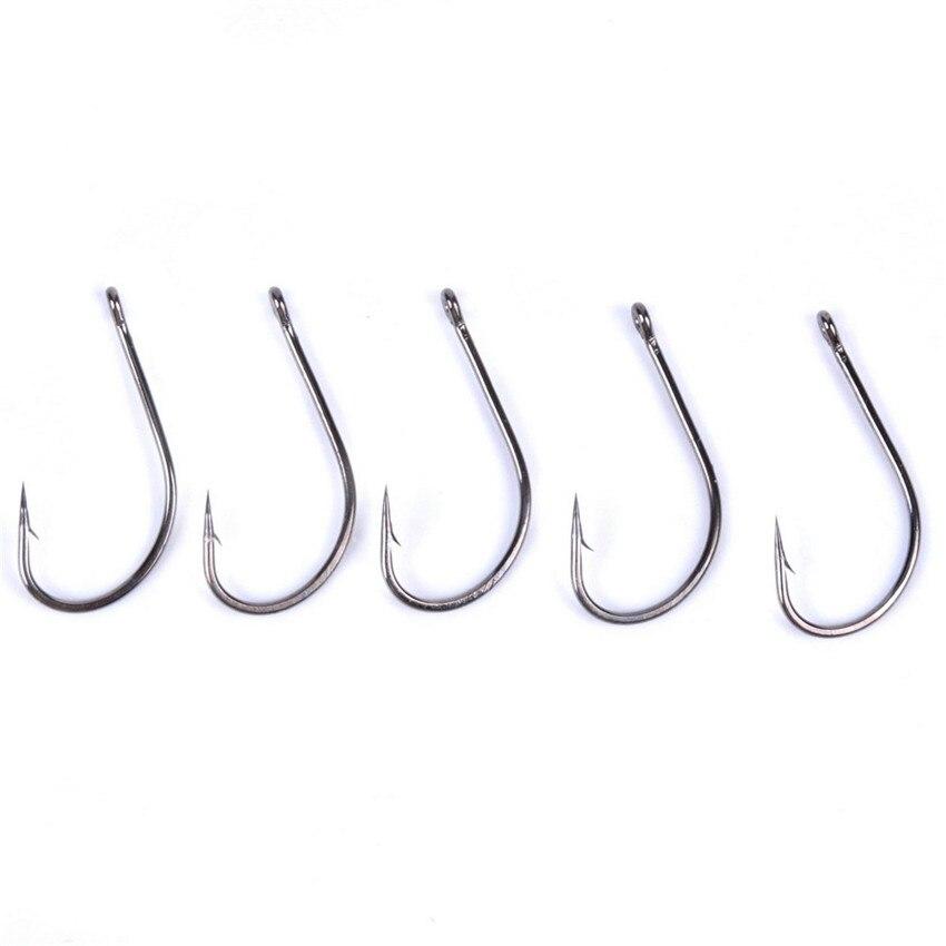 100PCS Fish Hook Size 1# 6/0# Fishing Hooks Freshwater