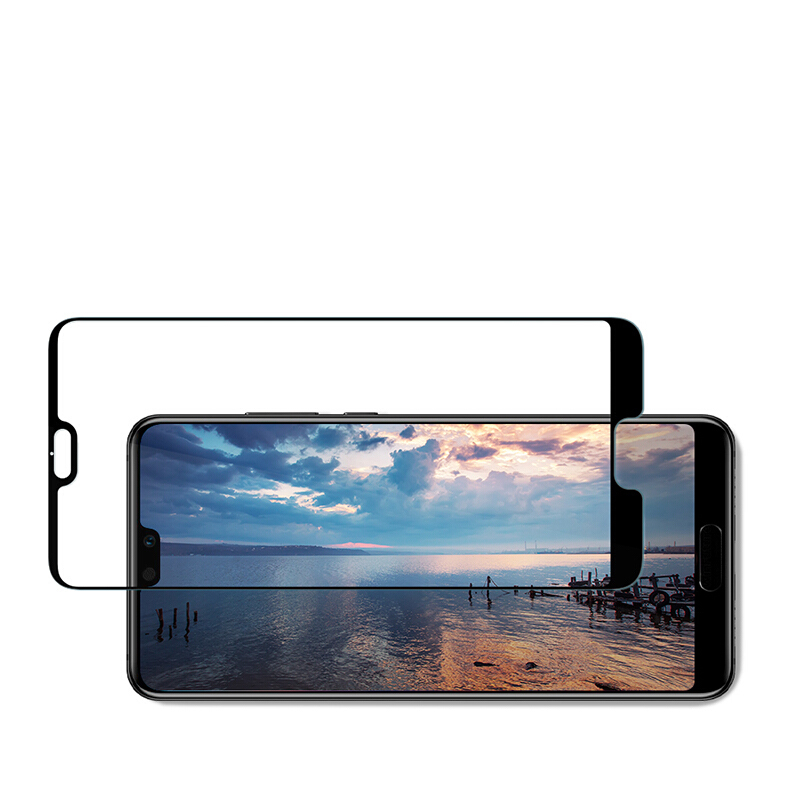 EXUNTON 5D Cold Carving Tempered Glass For Huawei P20 Pro 3D Full Cover Unbreakable Edge Screen Protector For Huawei P20 Lite in Phone Screen Protectors from Cellphones Telecommunications