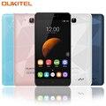 Original Oukitel C3 Teléfono Inteligente de 5.0 Pulgadas Desbloqueado 3G WCDMA Teléfonos Móviles Android 6.0 Quad Core 1 GB RAM 8 GB ROM IPS HD Móvil teléfono