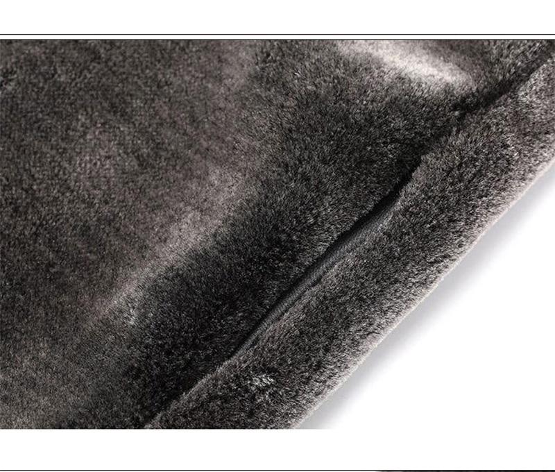 HONGZUO ерлерге арналған жасанды матадан - Ерлерге арналған киім - фото 4