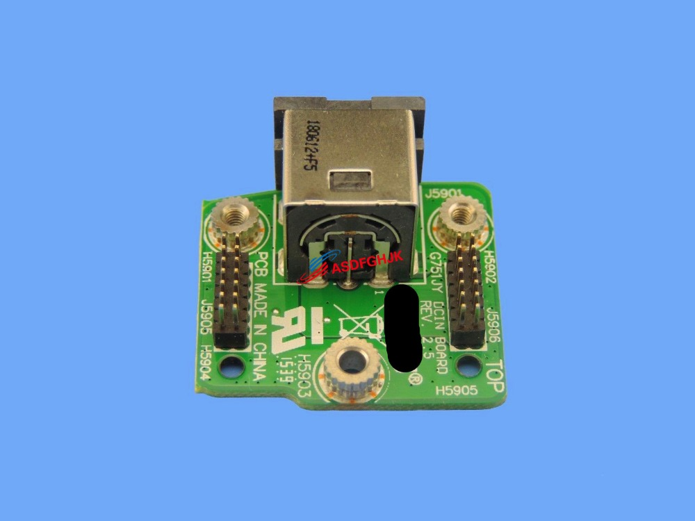 DC IN Jack Power Board for ASUS ROG G751JY DH71 G751JY DH72X G751JY DB73X G751 100