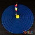 Монтессори Материалы Образования Восемь Планеты Солнечной Системы Модель Бука Науки Игрушки Ранние развивающие игрушки Может Умнее
