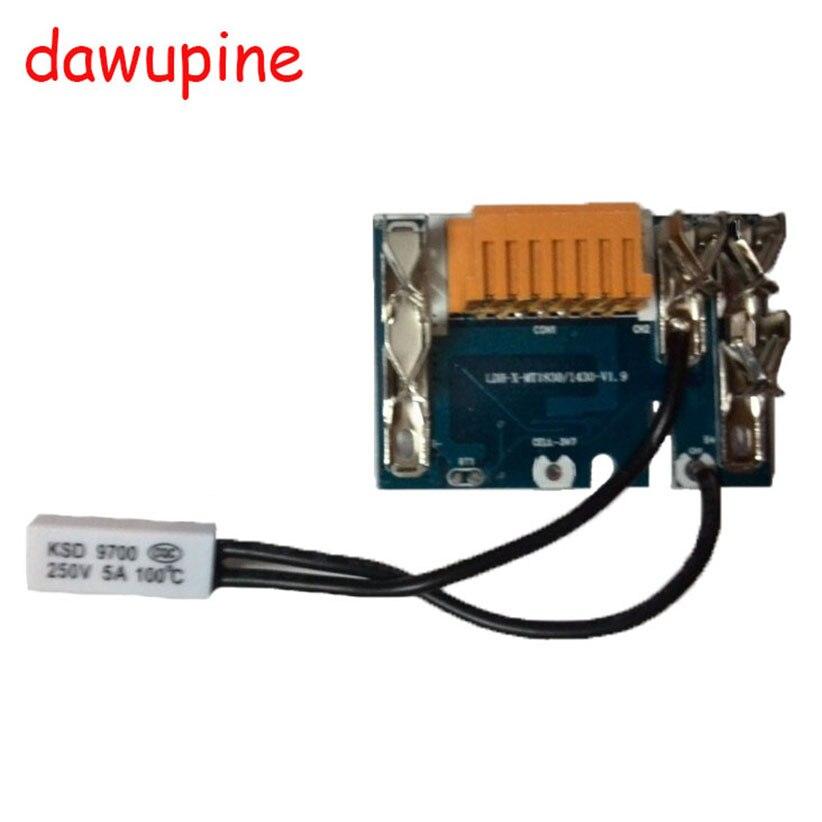 dawupine BL1830 Li-Ion battery PCB Charging Protection Circuit board For Makita 18V 3Ah 6Ah BL1815 BL1845 BL1860 BL1850 LXT400