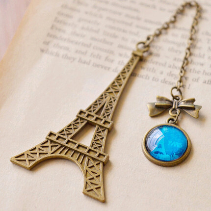 New Arrival Vintage Eiffel Tower Metal Bookmarks For Book Creative Item Kids Gift Korean Stationery Free Shipping