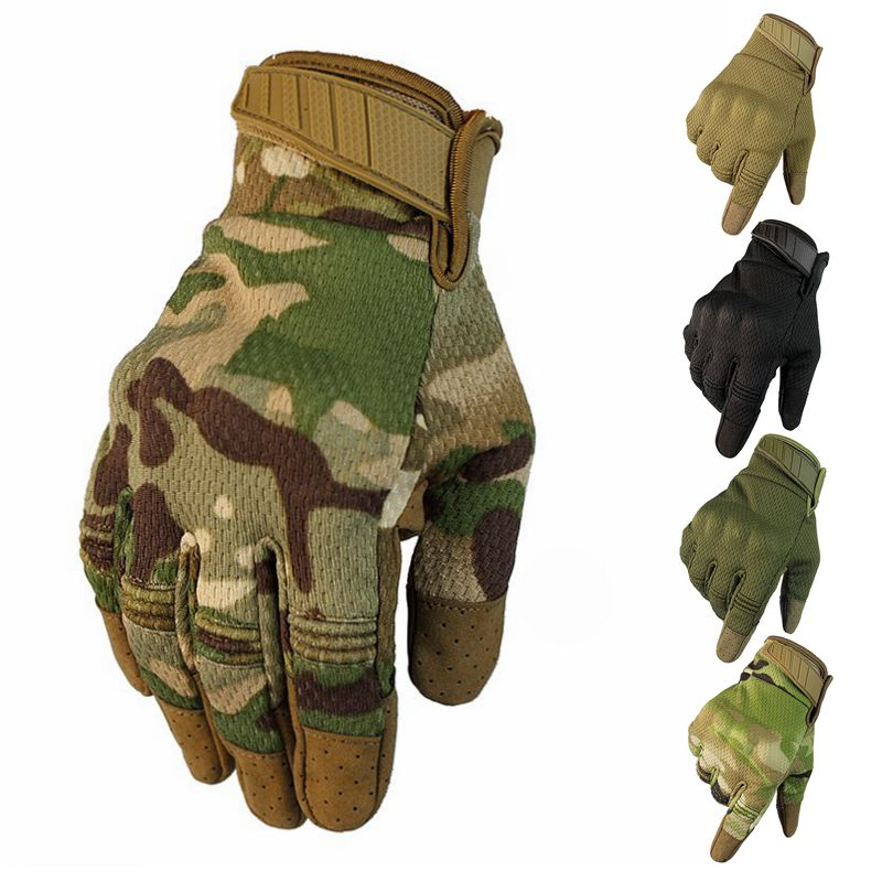 Winter Touch Screen Mittens Gloves Men Warm Windproof Gloves For Hiking Camping Men's Tactical Gloves Military Army Combat Glove