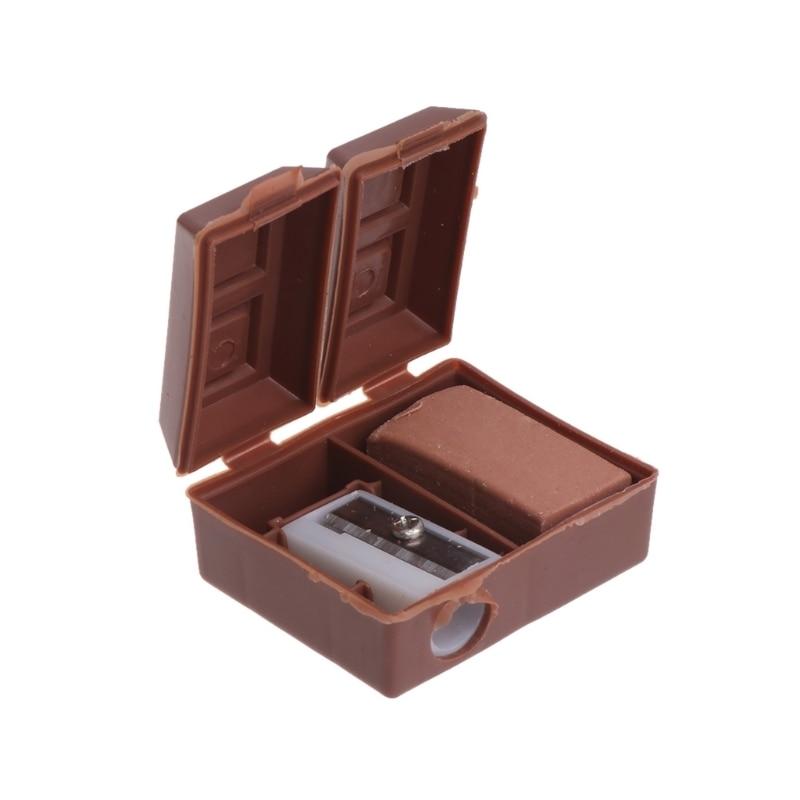 2018 Office Durable Hot Sale Creative Chocolate Bar Pencil Sharpener