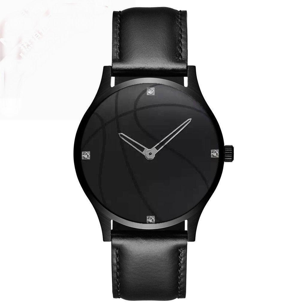 2017 Fashion Basketball Brand Couple Quartz Watch Fashion Women Genuine Leather Watches Men Sport Waterproof wristwatches Clock