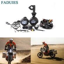 FADUIES мотоцикл 40 Вт светодиодный вспомогательные противотуманные легкие сборки безопасности вождения лампа для KTM Adventure 1090, 1190, 1290, для R1200GS