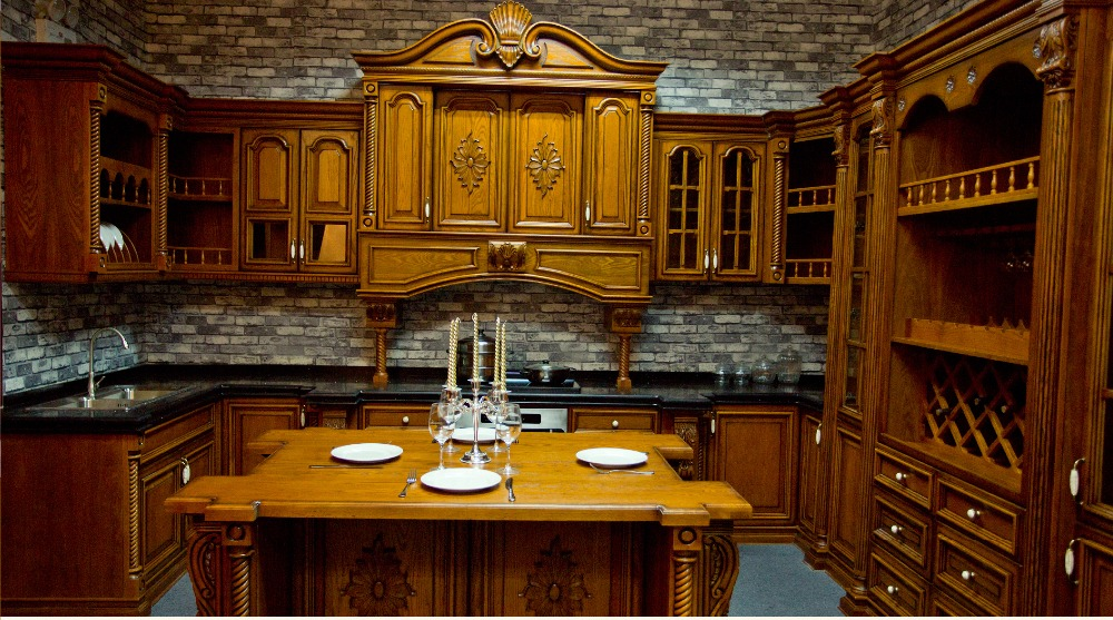 Luxury Wood Kitchen Cabinet