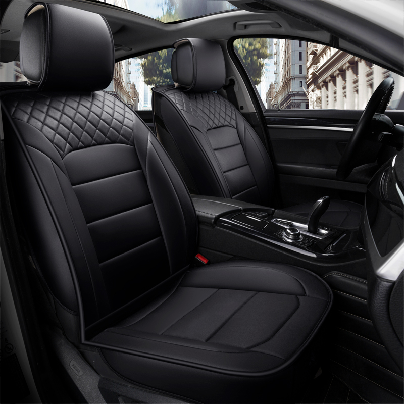 car accessories seat covers set universal automotive product classic microfiber leather cushion women men girl 5 seats  18503