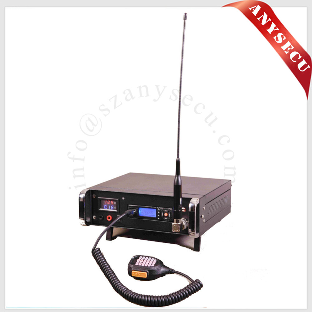 New Launch Mobile Radio Backpack Anysecu BP-218 25W Output Power VHF/UHF 136-174/400-470MHz Ham Radio