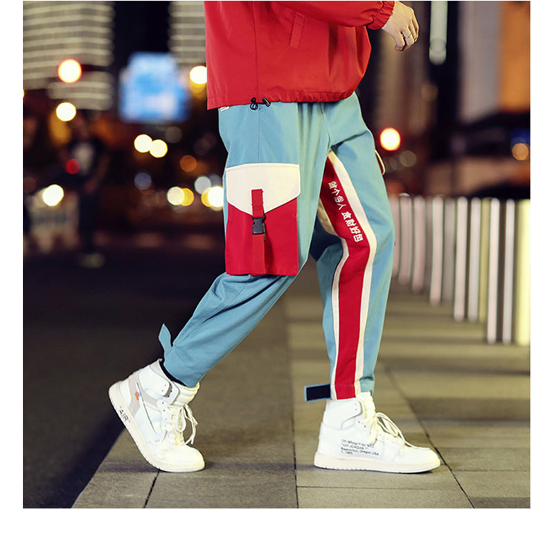 Cool Cargo Pants Men Casual Hip Hop Fashion (1)