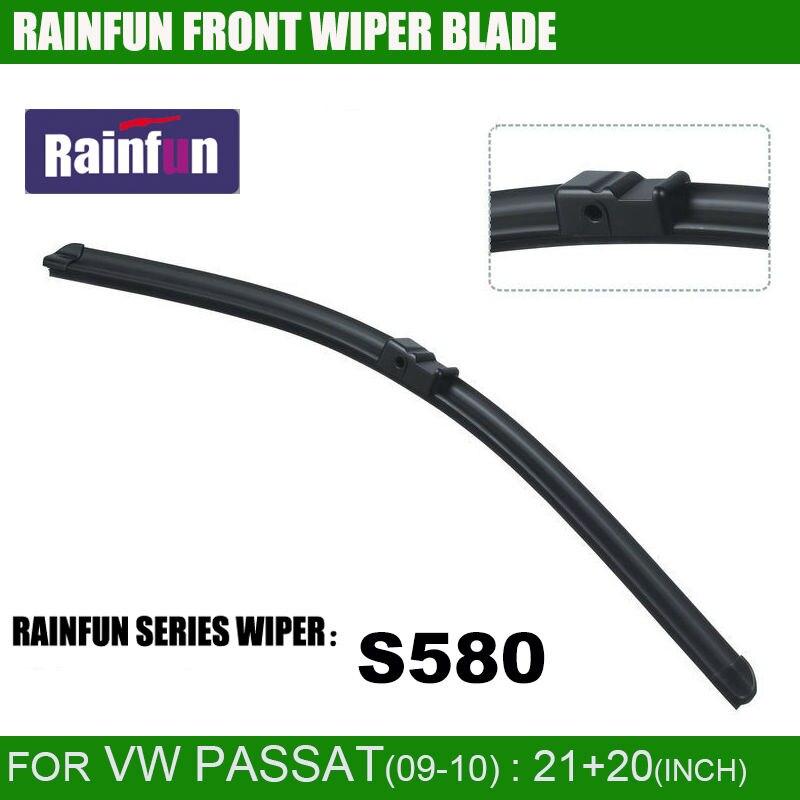 RAINFUN специальный автомобиль стеклоочистителя для VOLKSWAGEN PASSAT 1,8 T(09-10), 21+ 20 дюймов автоматический стеклоочиститель с натуральным каучуком, 2 шт. в партии