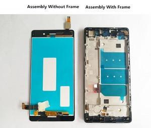 Image 4 - QYQYJOY AAA جودة LCD + الإطار لهواوي P8 لايت شاشة Lcd استبدال الشاشة ل ALE L04 TL00 CL00 digizpeter الجمعية