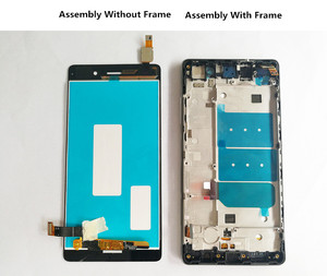 Image 4 - QYQYJOY AAA Quality LCD+Frame For HUAWEI P8 Lite Lcd Display Screen Replacement For ALE L04 TL00 CL00 Digiziter Assembly