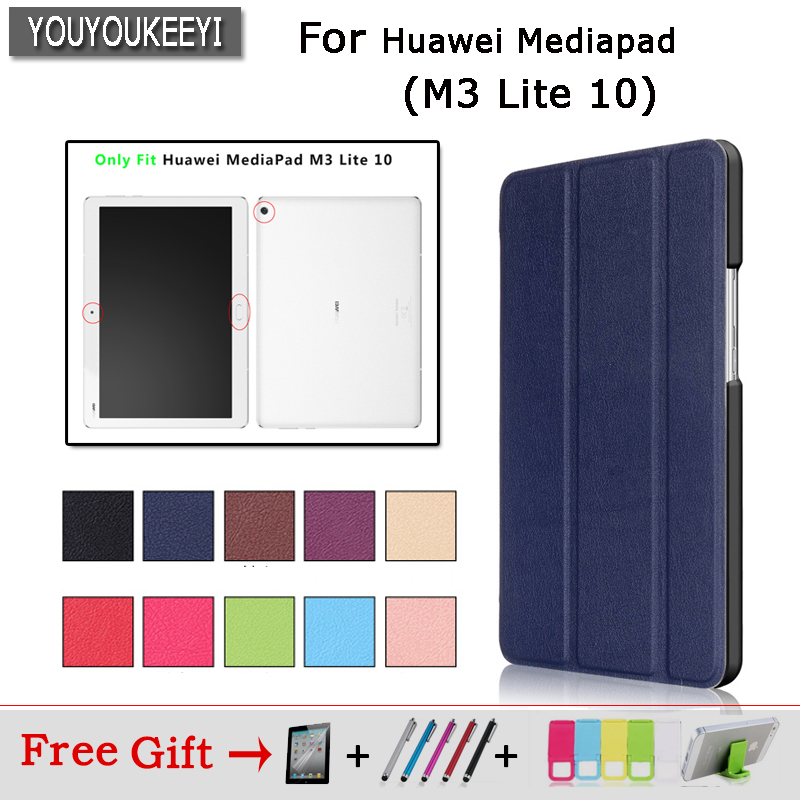 Three fold magnetic bracket Cover Case for Huawei MediaPad M3 Lite 10 Protective Cover Case for BAH-W09 BAH-AL00 10.1 Tablet firas abdullah thweny al saedi and fadi khalid ibrahim al khalidi design of a three dimensional virtual reality environment