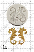 Vintage Relief Flourish Christmas Silicone Cake Mold Cupcake Kitchen Accessories Soap Chocolate Molds Confeitaria
