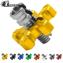 Universal Motorcycle CNC Aluminum brakes Clutch Cable Wire Adjuster For HONDA CB650f Crf 230 Dio Vtx Cb190r XR250 Accessories