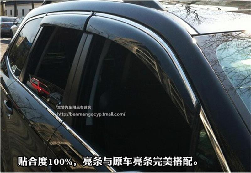 For Subaru forester 2009-2012 /2013-2016 Window Visor Vent Shades Sun Rain Deflector Guard Awnings Car Styling Accessories 4pcs bigbang 2012 bigbang live concert alive tour in seoul release date 2013 01 10 kpop