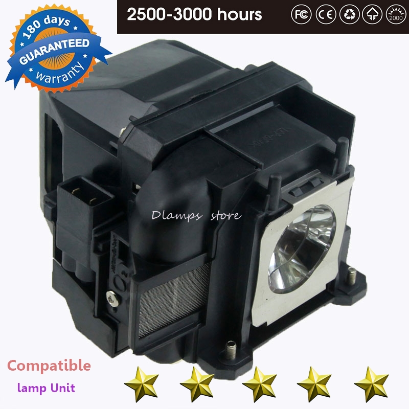 Replacement ELPLP88 / V13H010L88 for Epson Powerlite S27 EB-S04 EB-945H EB-955WH EB-965H EB-98H EB-S31 EB-W31 projector lamp replacement original projector elplp88 lamp for epson powerlite s27 x27 w29 97h 98h 99wh 955wh and 965h projectors