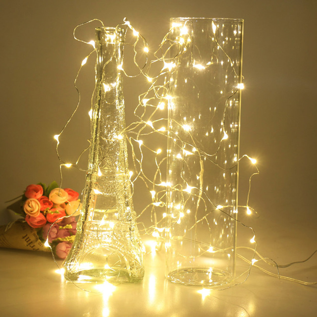 Lichterkette Weihnachtsbaum.Us 0 67 5 Off 2 Mt 5 Mt 10 Mt Led Sterne Lichterketten Led Lichterkette Weihnachtsbaum Hochzeit 20 50 100 Led Leuchten Dekoration Batterie Power In