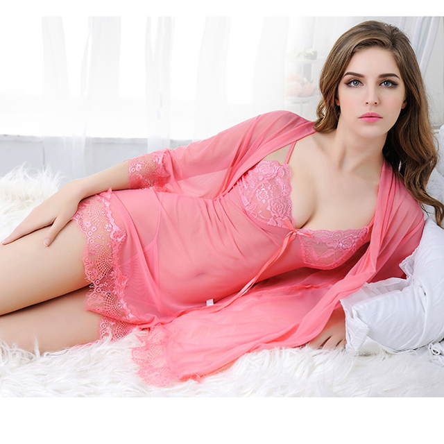 Newest Sexy Lingerie For Women Sexy underwear Ladies Lace Transparent Erotic Lingerie Conjoined Dress Suit