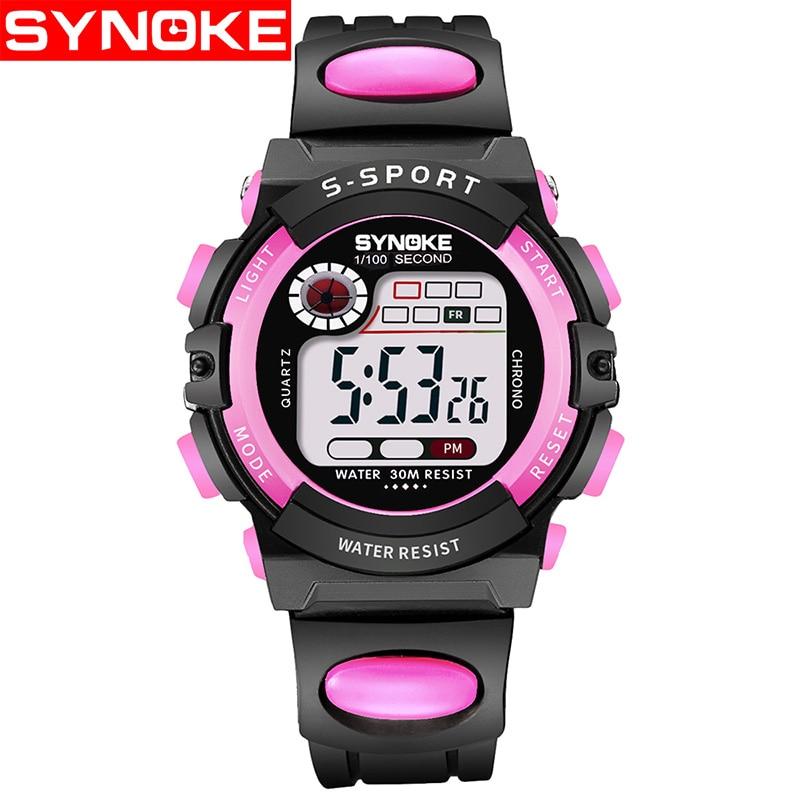 Children Digital Watches For Boys Girls Electronic Sports Wristwatch Waterproof Kids Christmas Gift Relogio Masculino