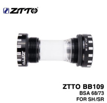 ZTTO BB109 BB68 BSA68 Bsa73 GXP MTB Road Bike External Bearing Bottom Brackets For Parts Prowheel 24mm BB 22mm Crankset