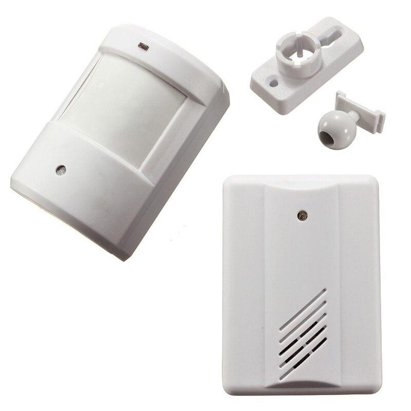 Campanello Senza Fili digitale Driveway Garage Allarme del Sensore di Movimento A Infrarossi Sistema di Allarme Senza Fili con il Monte Porta Campana