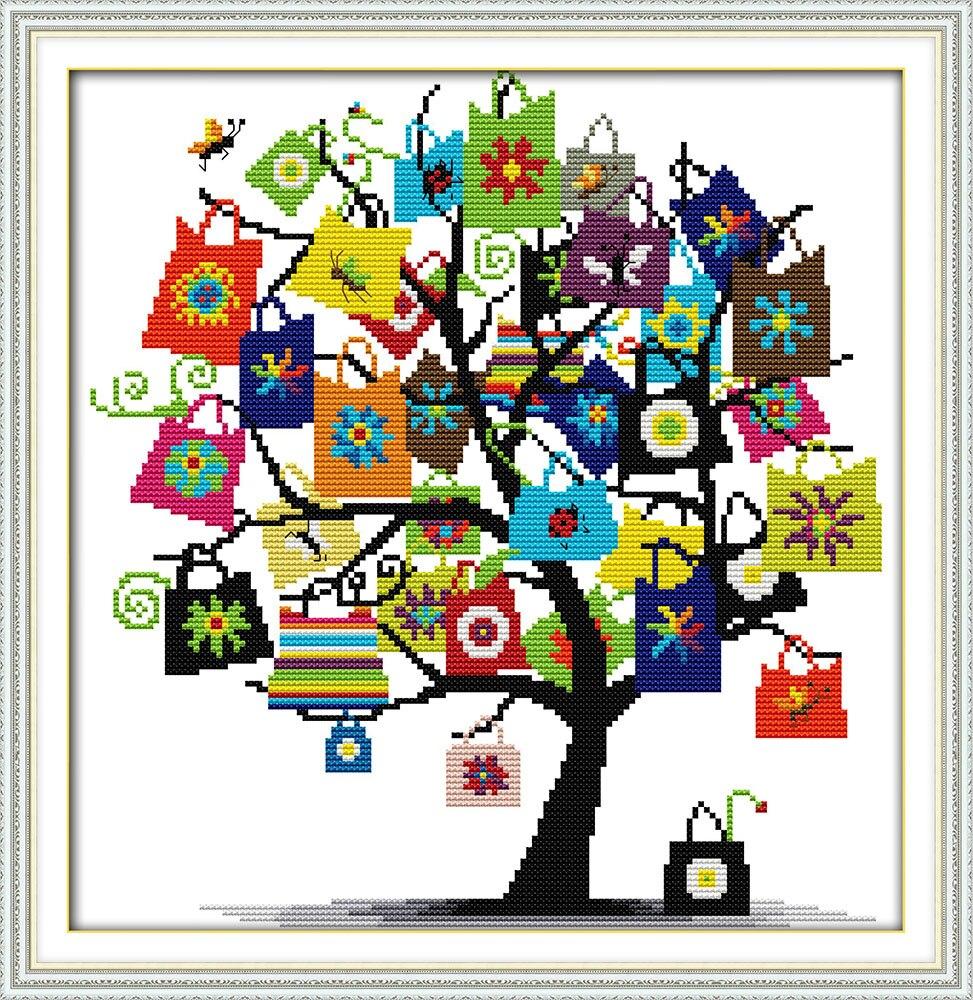 6 8 51 De Réduction Joie Dimanche Cadeaux Point De Croix Motifs De Bordure Hardanger Noël Ornements Chinois Point De Croix Peinture Couture