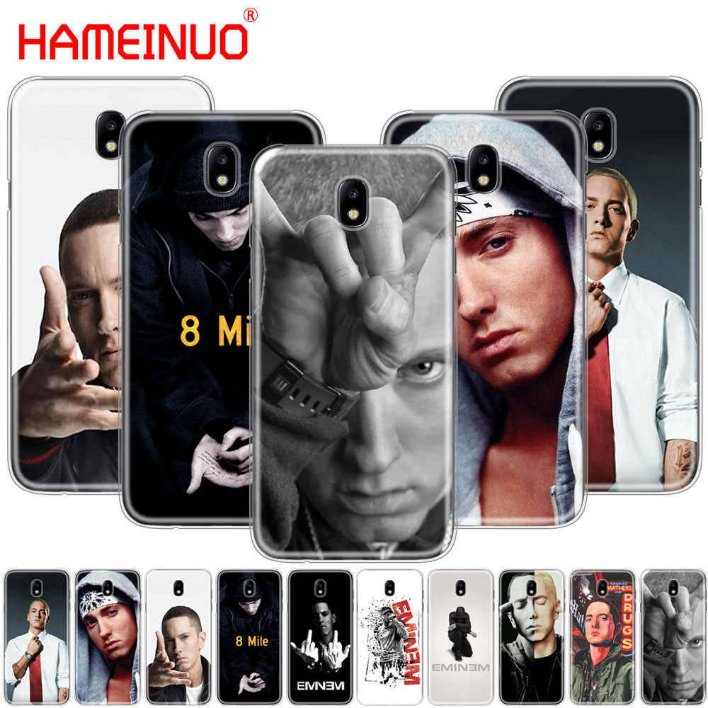 HAMEINUO» в стиле хип-хоп и рэп, Эминем рэп крышка чехол для телефона для Samsung Galaxy J3, J5, J7 2017 года J527 J727 J327 J330 J530 J730 PRO
